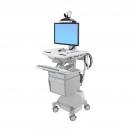 Carrello StyleView telemedicina 1 monitor - alimentazione