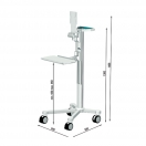 Uni-Cart con regolazione meccanica dell'altezza