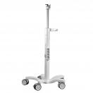 Esempi di carrello medicale e di supporto - dettaglio su rotelle - foto 5