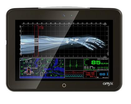 Tablet per visualizzazione di immagini medicali