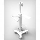 Carrello medicale e di supporto - modello con supporto tastiera - foto 4