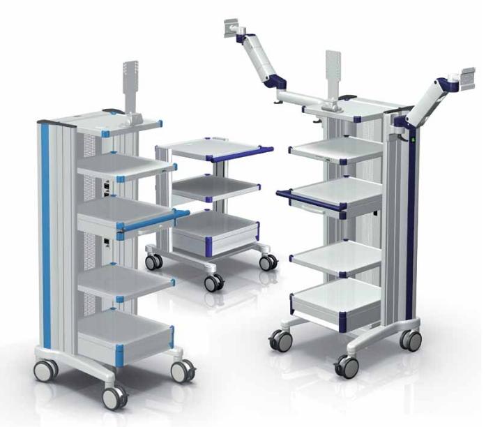 Carrelli medicali Compact-Cart