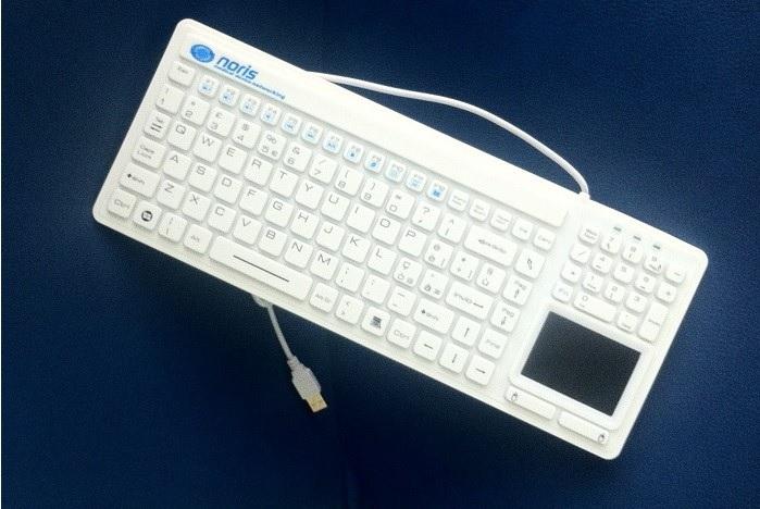 Tastiera Sanificabile Touchpad Integrato